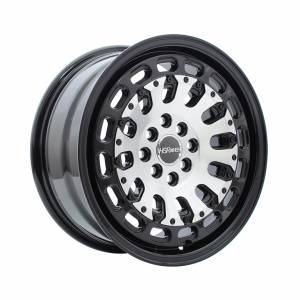 HSR MYTH07 Ring 16x7 H8x100-114,3 ET40 Black Machine Face1