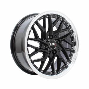 HSR Sepulu Ring 16x7 H8x100-114,3 ET40 Black Machine Lips1