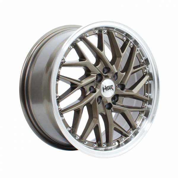 HSR Sepulu Ring 16x7 H8x100-114,3 ET40 Bronze Machine Lips1