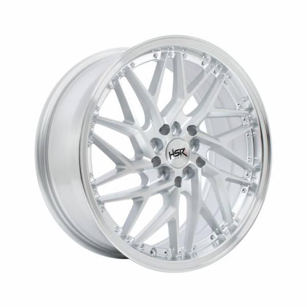 HSR Sepulu Ring 17x7,5 H10x100-114,3 ET42 Silver Machine Face Lips1