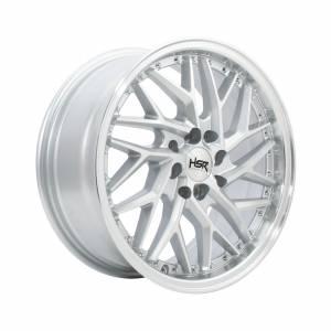 HSR Sepulu Ring 17x7,5 H8x100-114,3 ET42 Silver Machine Face Lips1