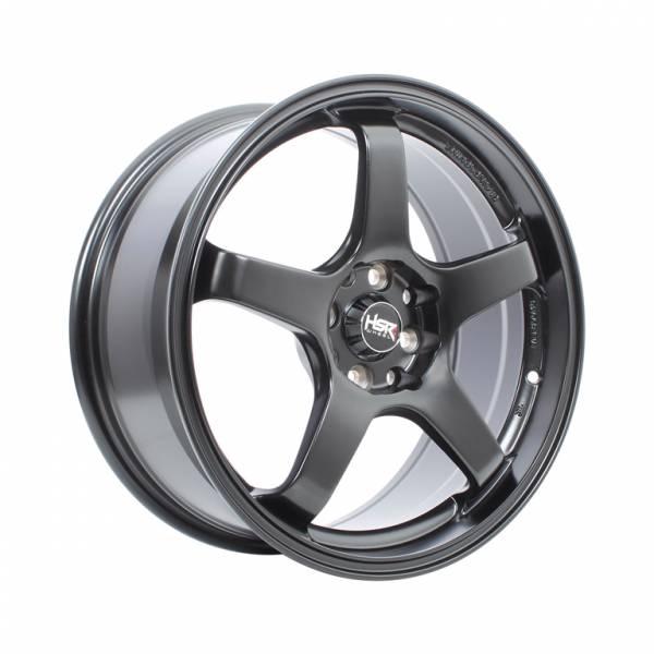 HSR Tendon U238 Ring 15x7 H8x100-114,3 ET38 Semi Matte Black1
