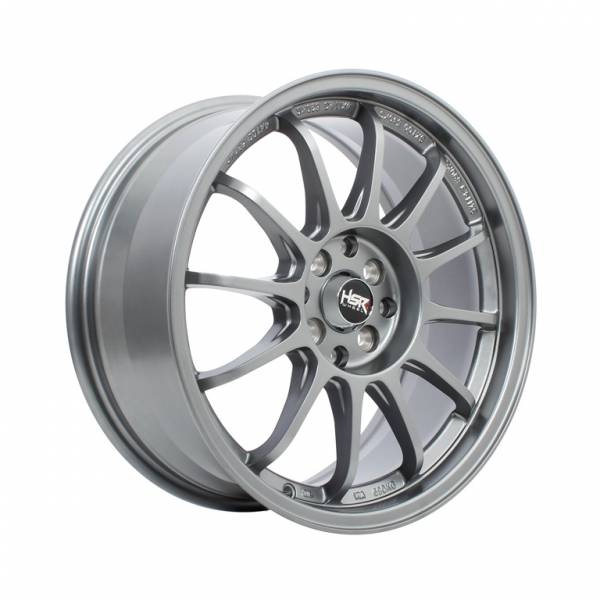HSR Yokote U201 Ring 15x7 H8x100-114,3 ET38 Semi Matte Grey1