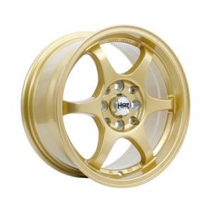 HSR Yuzawa U206 Ring 15x7 H8x100-114,3 ET38 Gold1