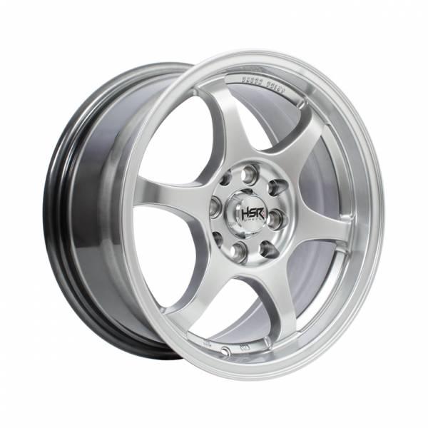 HSR Yuzawa U206 Ring 15x7 H8x100-114,3 ET38 Hyper Silver1