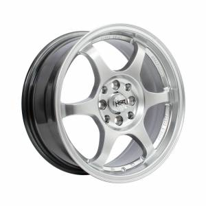 HSR Yuzawa U206 Ring 16x7 H8x100-114,3 ET38 Hyper Silver1