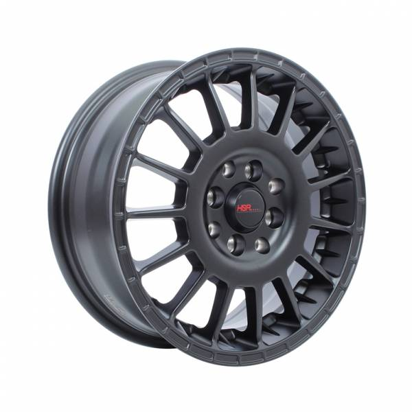 HSR Aarrow JD803 Ring 15x6,5 H8x100-114,3 ET45 Semi Matte Black1