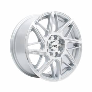HSR Ambarita 2085 Ring 15x6.5 H8x100-114,3 ET40 Silver Machine Face1