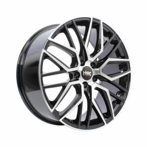 HSR Botain 1810 Ring 20x8.5 H5x114.3 ET45 Black Machine Face1