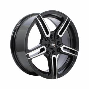 HSR Sayosa 2093 Ring 15x6.5 H8x100-114,3 ET38 Black Machine Face1