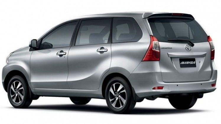 Eksterior Toyota Avanza