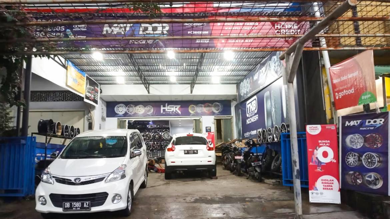 Toko Velg dan Ban Mobil Manado