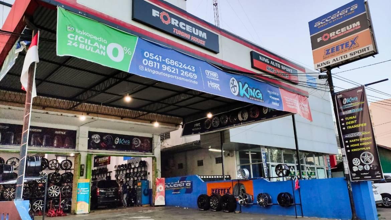 Toko Velg dan Ban Mobil Samarinda