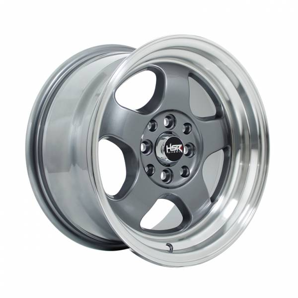 HSR Brisket JD5290 Ring 15x7-8 H8x100-114,3 ET40-33 Grey Machine Lips1