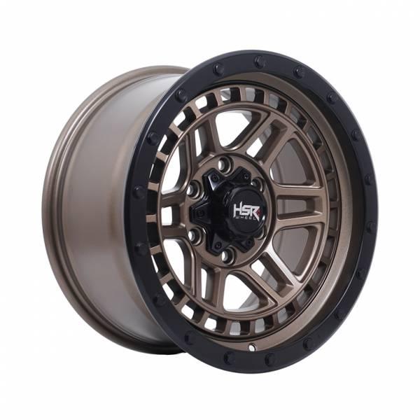 HSR Dopang JTBM2 Ring 17x8,5 H6x139,7 ET8 Semi Matte Bronze Black Lips1