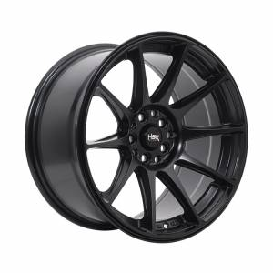 HSR Shinjuku JD8051 Ring 17x7,5-9 H10x100-114,3 ET38-28 Semi Matte Black1
