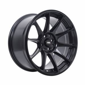 HSR Shinjuku JD8051 Ring 17x7,5-9 H8x100-114,3 ET38-28 Semi Matte Black3