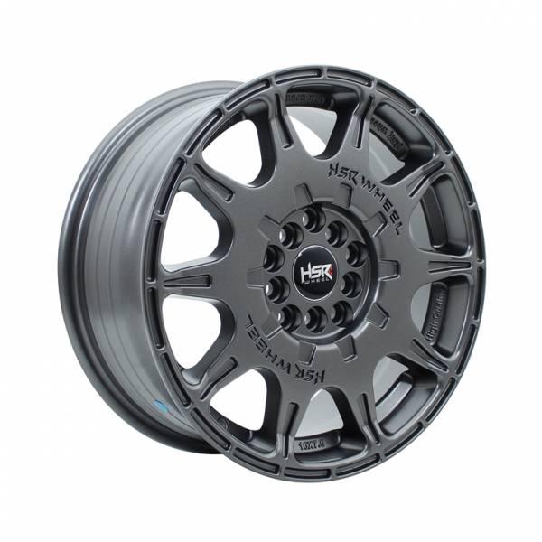 HSR WRX 1072 Ring 16x7 H10x100-114,3 ET45 Semi Matte Grey1