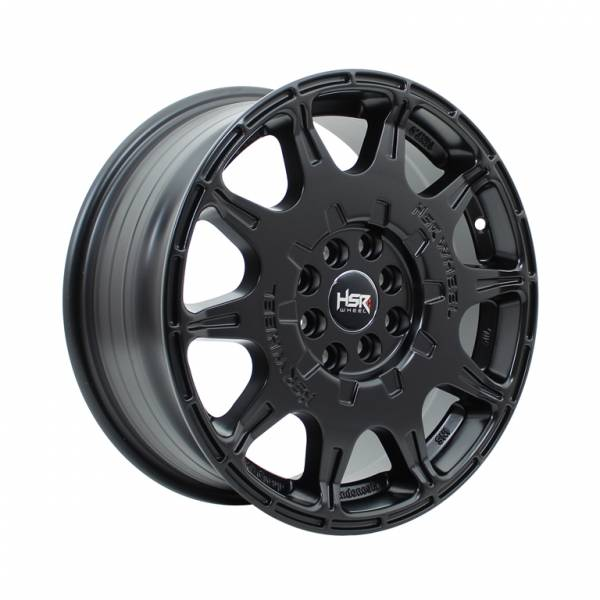 HSR WRX 1072 Ring 16x7 H8X100-114,3 ET45 Semi Matte Black1