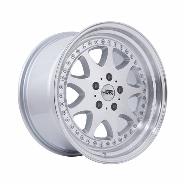 HSR Bavaria JD9016 Ring 17x8,5-9,5 H5x114,3 ET42-38 Silver Machine Face Lips1