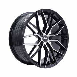 HSR FG Botain VLF06 Ring 18x8 H5x114,3 ET45 Black Machine Face1