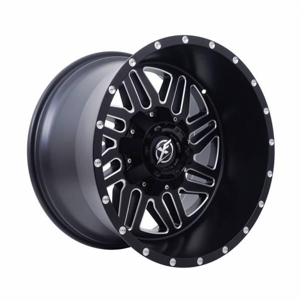 HSR FG Cunca XF-201 Ring 20x12 H12x135-139,7 ET-44 Matte Black Milled1