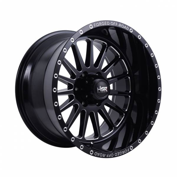 HSR FG Mawang F20 Ring 20x12 H6x139,7 ET-44 Black Milled1