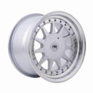HSR Ikimasu H596 Ring 15x7,5-8,5 H8x100-114,3 ET30-25 Silver Machine Lips1