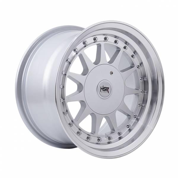 HSR Ikimasu H596 Ring 15x7,5-8,5 H8x100-114,3 ET30-25 Silver Machine Lips1