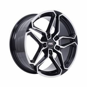 HSR Independent 5116 Ring 17x7,5 H5x114,3 ET42 Black Machine Face1