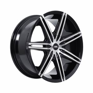 HSR Liku L249 Ring 18x8,5 H10x105-114,3 ET35 Machine Face Gloss Black1