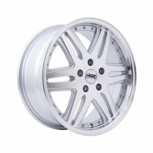 HSR Okayama JD7332 Ring 17x7,5 H5x114,3 ET42 Silver Machine Face Lips1