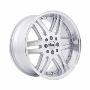 HSR Okayama JD7332 Ring 17x8,5 H8x100-114,3 ET38 Silver Machine Face Lips1