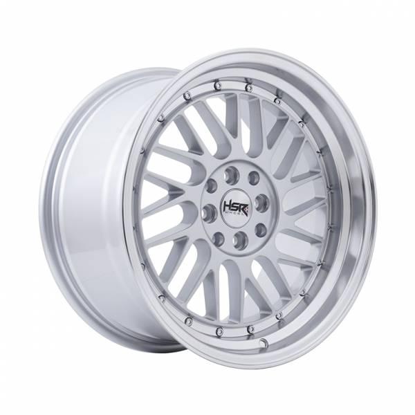HSR Paddock JD3042 Ring 17x7,5-9 H8x100-114,3 ET42-38 Silver Machine Lips1