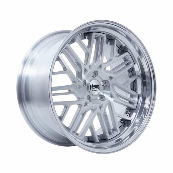 HSR RFG Lekjon Ring 20x9,5-10,5 H5x114,3 ET28-23 Silver Brush1