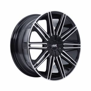 HSR Sikor L913 Ring 18x8 H10x105-114,3 ET38 Gloss Black Machine Face1