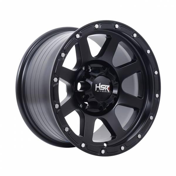 HSR Tubo VL06G Ring 15x8 H6x139,7 ET0 Matte Black1