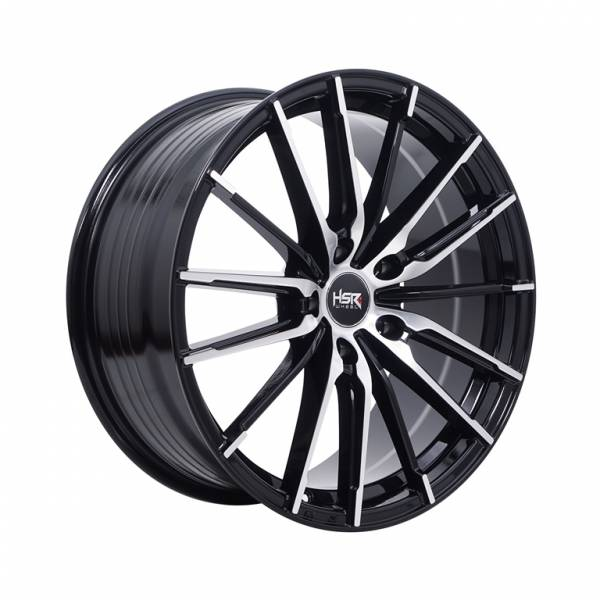 HSR Hinga 1041 Ring 18x8 H5x114,3 ET40 Black Machine Face1