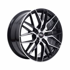 HSR Kakiang 1065 Ring 18x8 H5x114,3 ET40 Black Machine Face1
