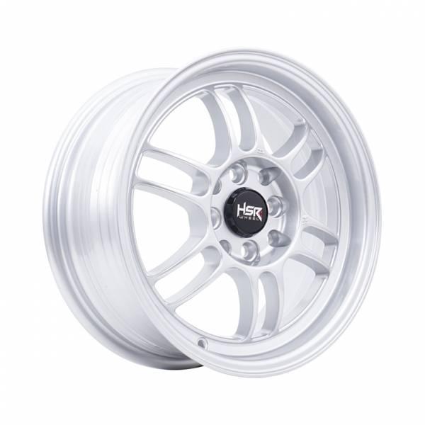 HSR Kumamoto 677B Ring 15x6,5 H8x100-114,3 ET40 Silver1