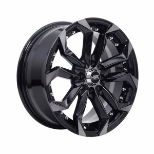 HSR Labang 5120 Ring 16x7 H8x100-114,3 ET38 Black Machine Face Black Clear1
