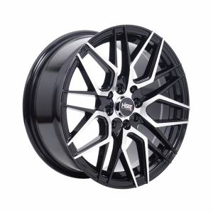 HSR Lamika JA059 Ring 16x7 H8x100-114,3 ET38 Black Machine Face1