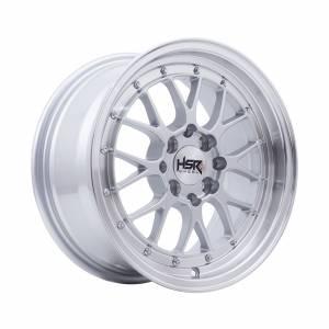 HSR Lemans U272 Ring 15x7 H8x100-114,3 ET38 Silve Machine Lips1