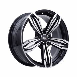 HSR Merkin 5082 Ring 17x7,5 H5x114,3 ET40 Black Machine Face1