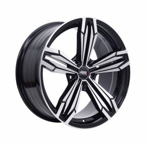 HSR Merkin 5082 Ring 18x8 H5x114,3 ET40 Black Machine Face1
