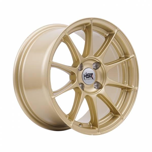 HSR POOL H1869 Ring 15x7-8 H4x100 ET40 Gold1