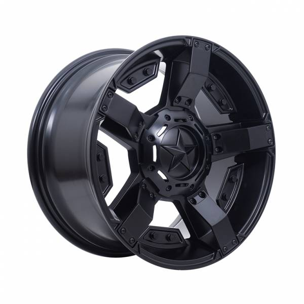 HSR Rasta 2 JT5238 Ring 17x9 H6x139,7 ET25 Semi Matte Black4