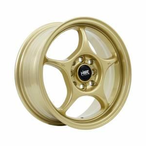 HSR Sensei 271B Ring 15x6,5 H8x100-114,3 ET40 Gold1