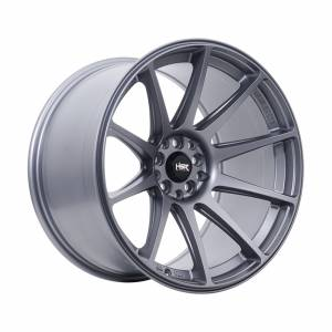 HSR Shinjuku JD8051 Ring 18x9,5-10,5 H10x100-114,3 ET20-15 Semi Matte Grey1