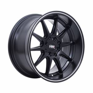 HSR Tribe JD8168 Ring 16x7-8,5 H8x100-114,3 ET38-25 Semi Matte Black Machine Ring1